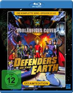 Defenders of the Earth - Die komplette Serie [Blu-ray] für 9,97€ [Amazon Prime]