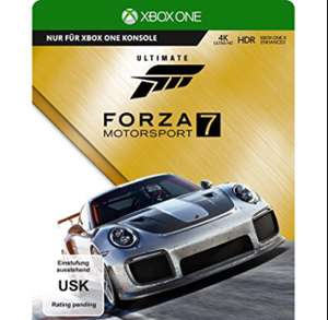 Forza Motorsport 7: Ultimate Edition (Xbox One) für 69,99 € [Media Markt Onlineshop]