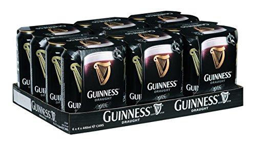 [Amazon] Guinness Irish Draught (24 x 0.44 l) für 32,87 zzgl. Pfand anstatt EUR 37,14