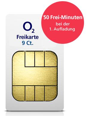 [O2] Gratis SIM-Karte bestellen mit Freiminuten