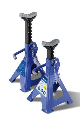 Michelin Unterstellbock Set, 2000 kg Tragfähigkeit, blau, 1 Paar - Amazon WHD