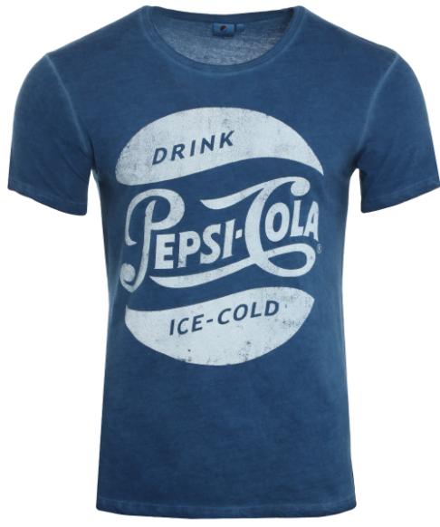 PepsiCp Herren-T-Shirt in 2 Varianten, jeweils von S bis XXL verfügbar, inklusive Versandkosten