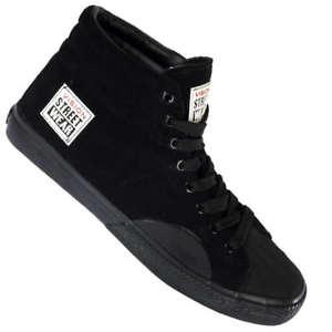 Vision Street Wear Suede Hi Sneaker in Schwarz für 18,99€ [ebay]