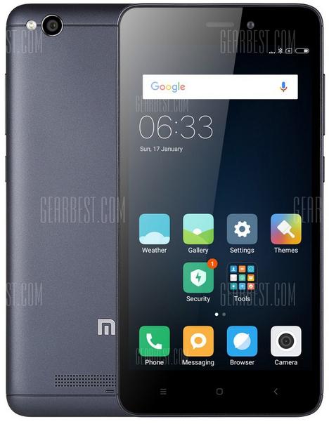 Xiaomi Redmi 4A, 2/32GB mit Band 20 in grau