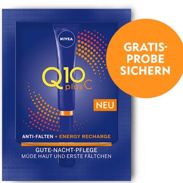 Gratisprobe Nivea Energy Recharge Q10 plus C