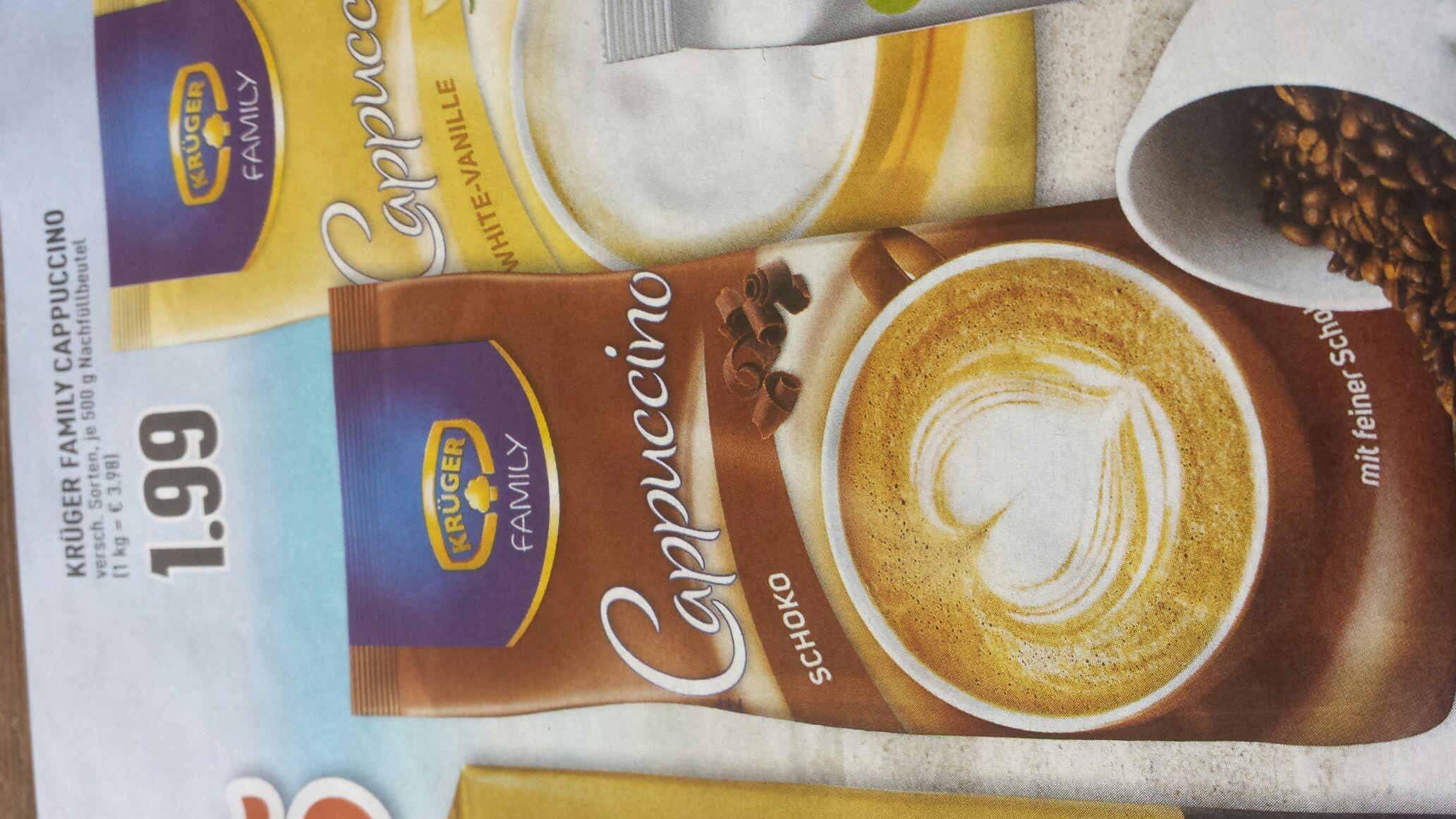 Super Preis Krüger Family Cappuccino bei Edeka in Herbern