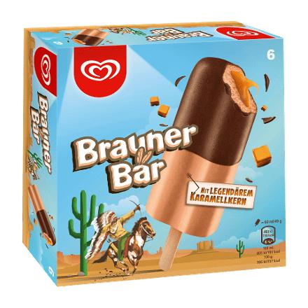 Brauner Bär von Langnese, 6 Stück für 1,85€ ab Freitag, 18.8. bei [Aldi-Nord]
