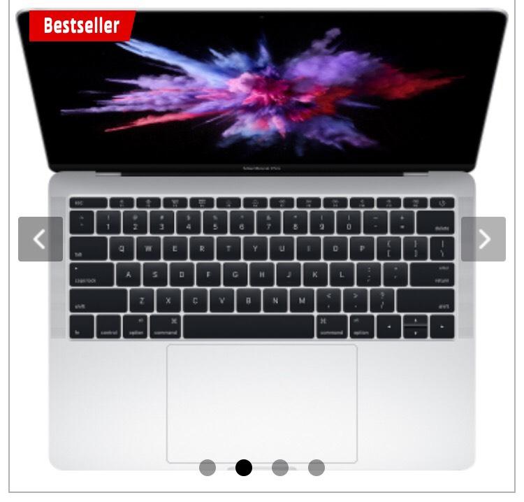 CH Deal - Macbook Pro 13 2016 silber ca. €1.175.- Media Markt