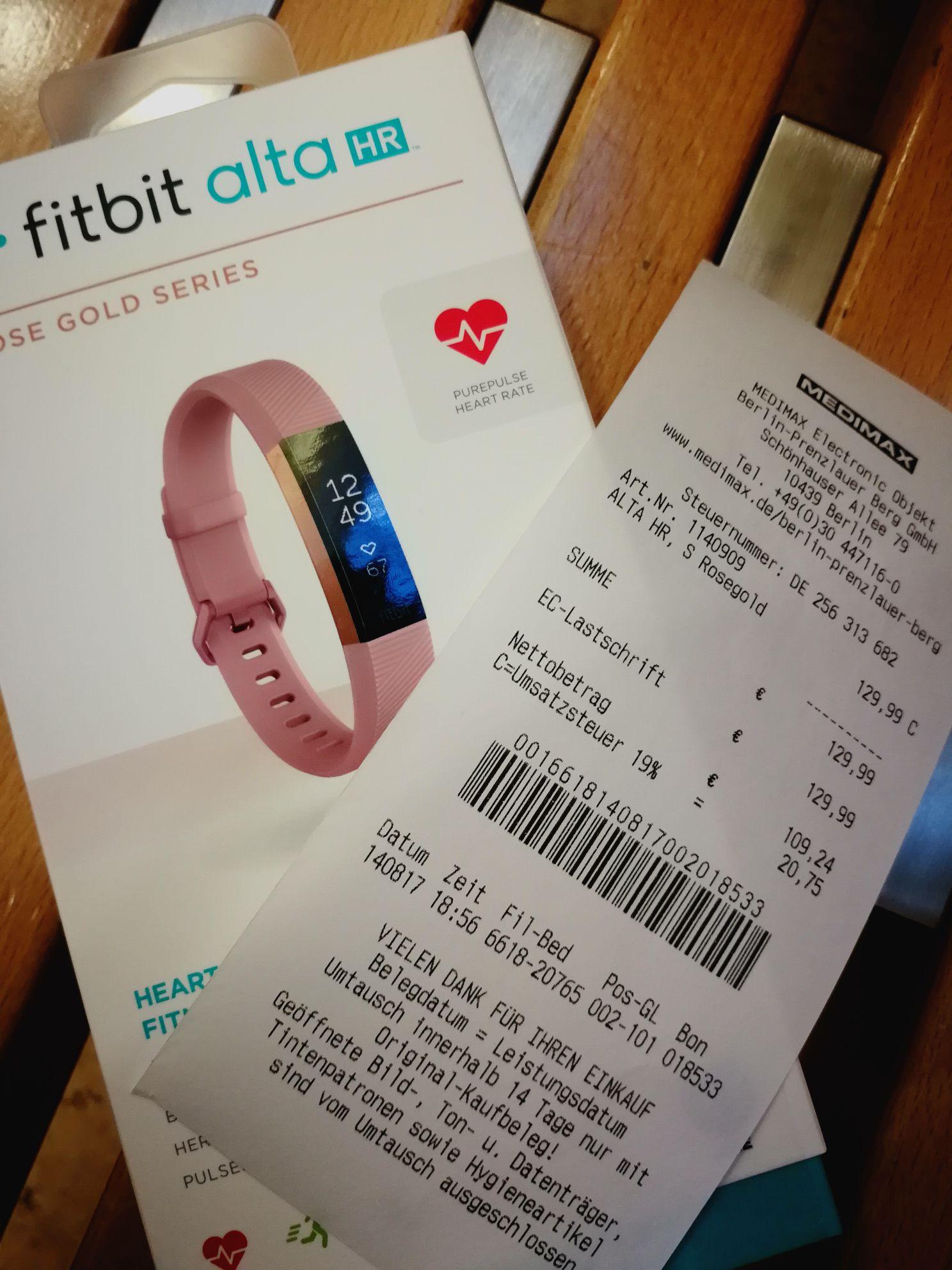 Fitbit alta HR alle erhältlichen Farben in Schönhauser Allee Arkaden