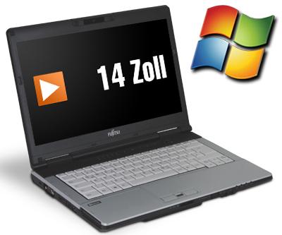 Fujitsu Lifebook S751 (14'' HD matt, i3-2350M, 4GB RAM, 320GB HDD, DVD-Brenner, Win 7 Pro) für 131,80€ [Softwarebilliger]