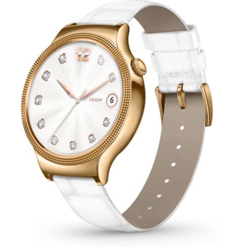 (fnac.com Frankreich) Huawei Watch Elegant - Android Watch - Lederband - Amoled Display