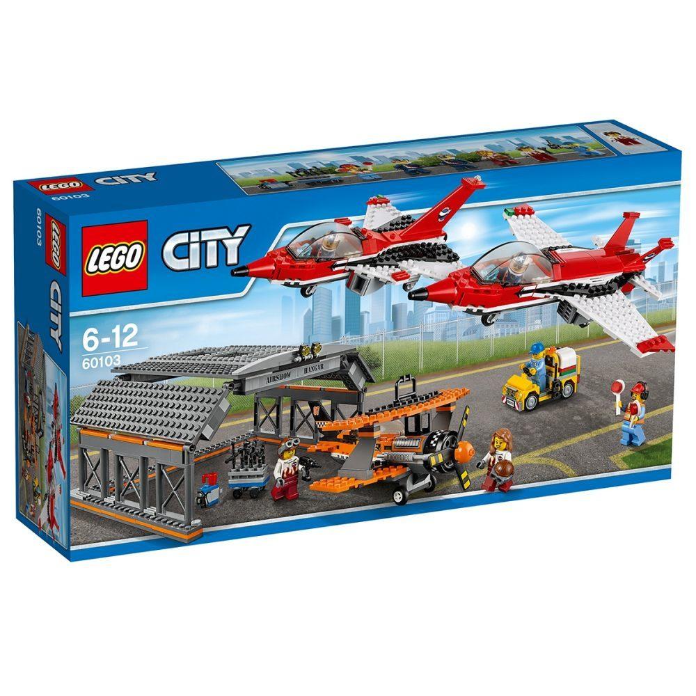 LEGO City 60103 Große Flugschau für AT 33,90 / DE 36,90 Interspar.at UVP 79,99 57% Rabatt