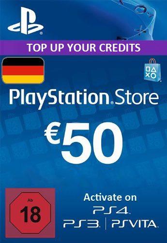 PlayStation Network Guthaben 50€ für ab 40,69€ [Gameladen]