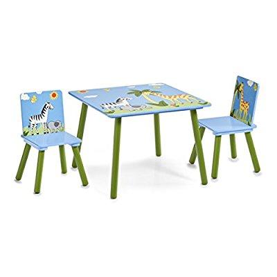 Zeller Sitzgruppe für Kinder, Motiv Safari [Amazon Marketplace]