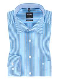 3 x Olymp Hemden (Luxor, Level 5, No6) für 80 €, 1x Hemd 26,66 € inkl. Versand - große Farb und Größenauswahl bei Hirmer