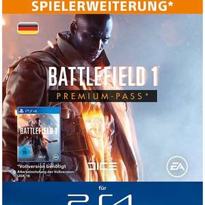 Battlefield 1 Premium Pass Season Pass PS4 [PSN Store]