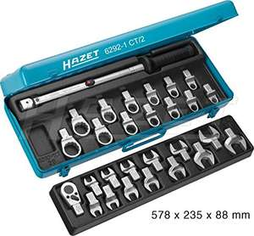 [Prime] - HAZET 6292-1CT/28 Hazet Drehmoment-Werkzeug-Sortiment