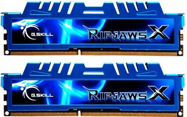 [Amazon] G.Skill RipJawsX blau DIMM Kit 8GB, DDR3L-1600, CL9-9-9-24