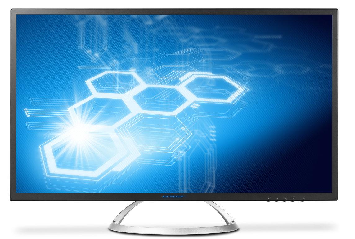 Medion Erazer X58222 Monitor mit 31,5'', WQHD IPS matt, 300cd/m², 1200:1, HDMI + DP + DVI, VESA, EEK B für 269€ bei Medion