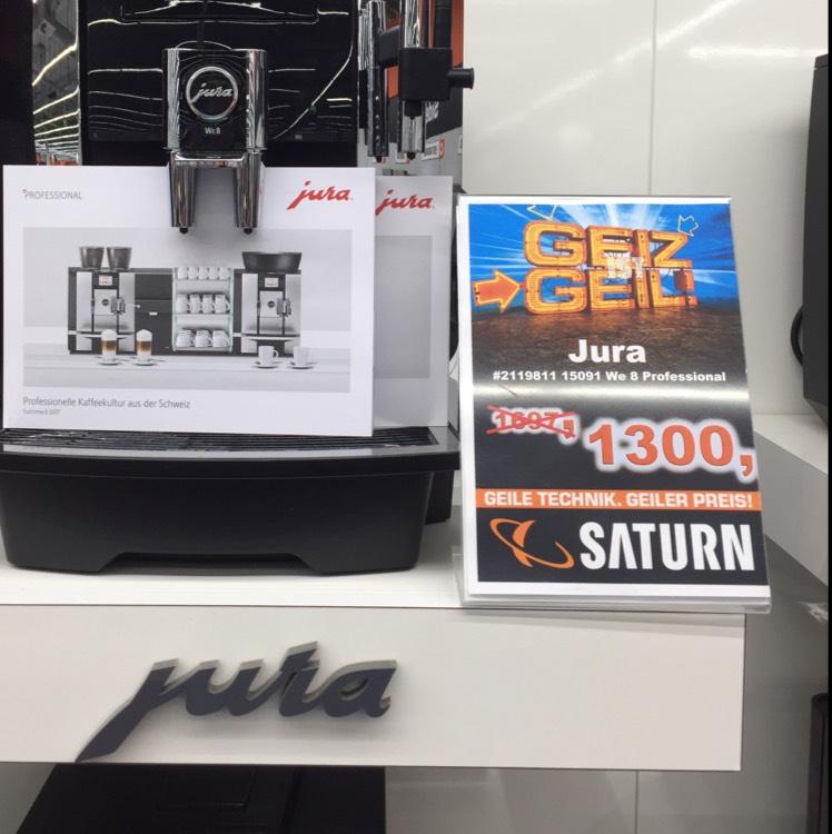 Saturn Braunschweig Jura WE 8. 15091 Profi