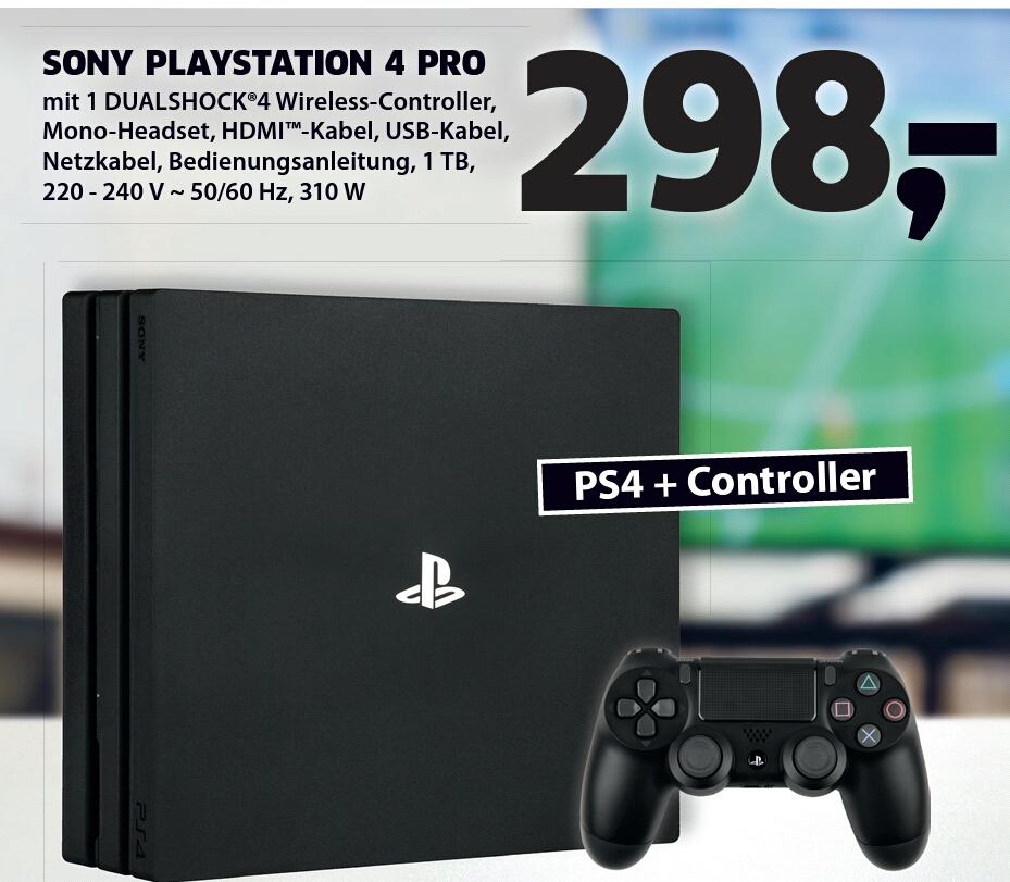 [Lokal - Black.de Wernigerode] PS4 Pro 1TB für 298€ Neueröffnung am 19.8