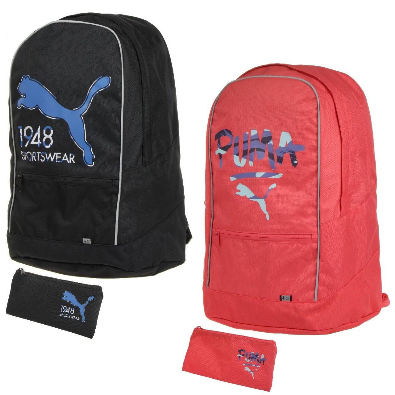 PUMA Pioneer Rucksack mit Universalbeutel in schwarz oder cayenne für 10€ inkl. Versand