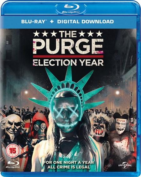 The Purge: Election Year (Blu-ray + UV Copy) für 5€ (Zoom.co.uk)