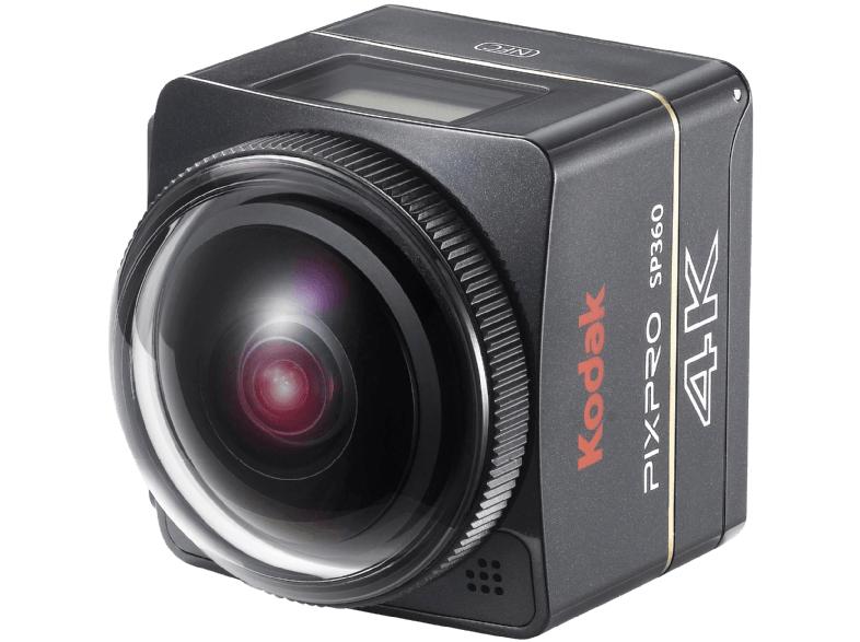 KODAK SP 360 4K- BK6 Aqua Sport Pack Action Cam 4K , WLAN