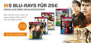 5 Blurays für 25€ bei [Saturn] - z.B. Fight Club, Braveheart, Life of Pi, Der Marsianer, Black Swan, The Revenant u.v.m.