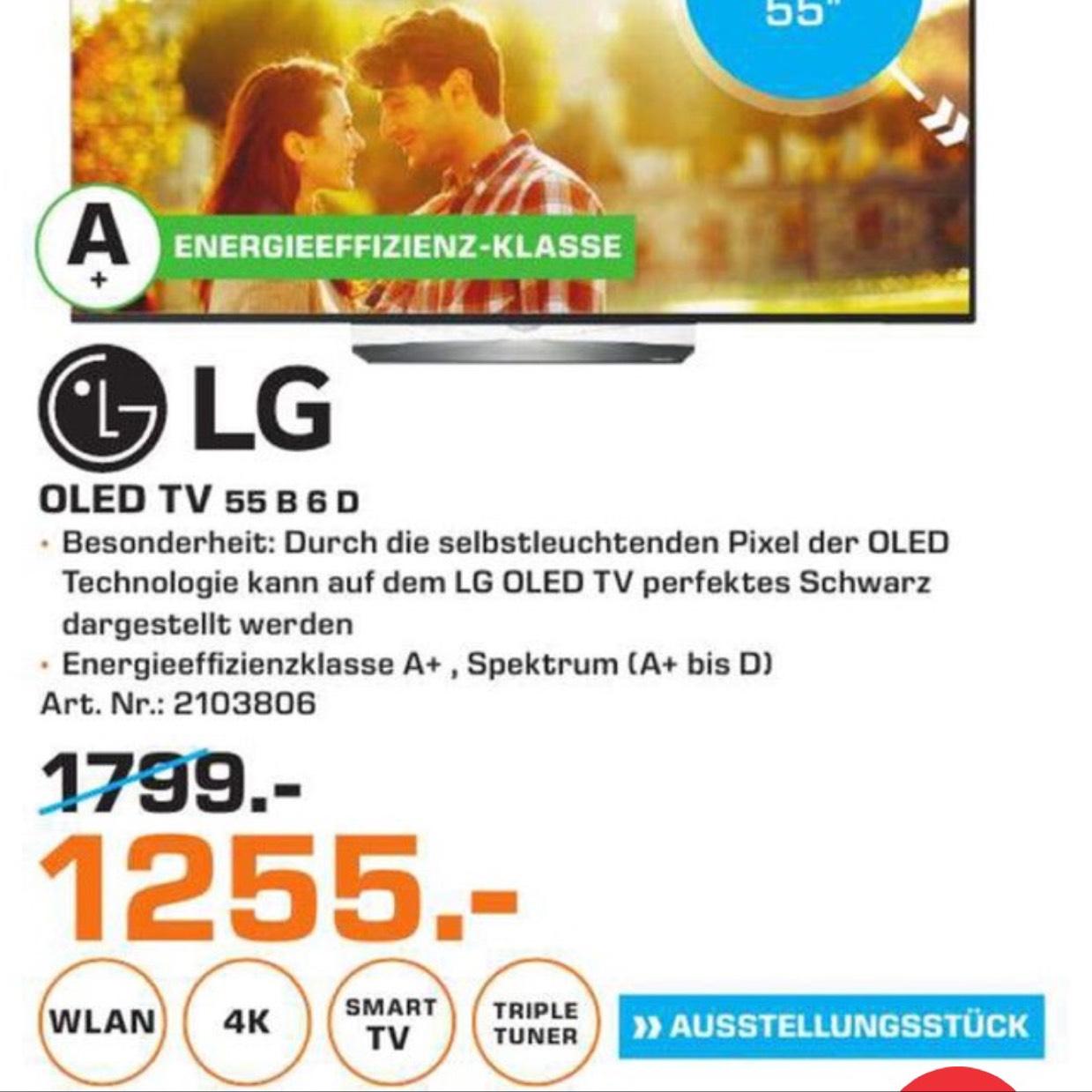 [Lokal - Saturn Bochum] LG 55B6D 1255€ (AUSSTELLER!) ... Idealo (Neugerät): 1838,90€