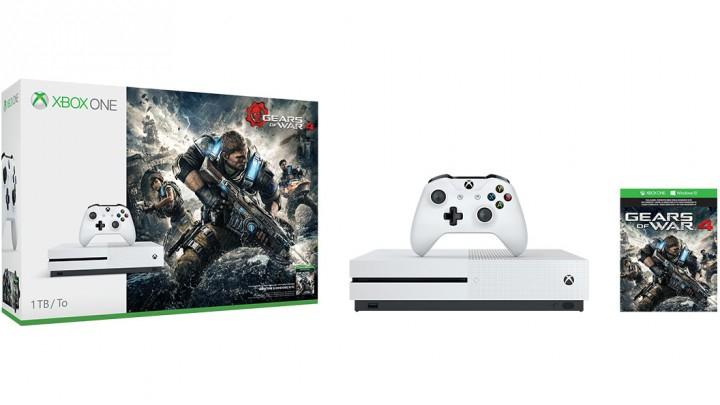 Microsoft Xbox One S 1TB + Gears of War 4 für 230,99€ (inkl FSK 18 Versand)