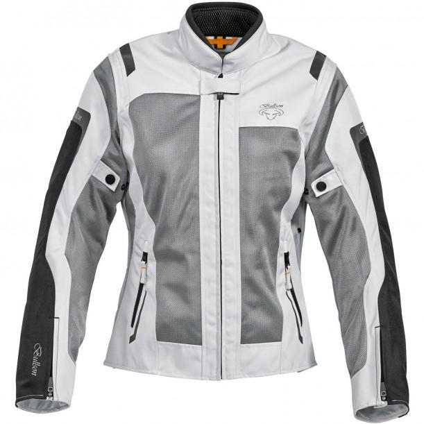 Bullson Breeze Damen Mesh-Sommerjacke in grau für 103,94€ - Motorradjacke
