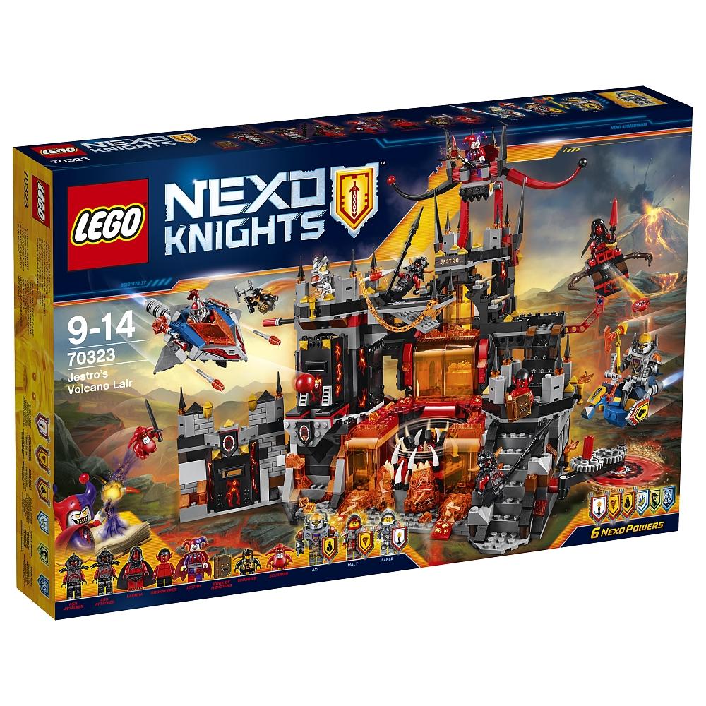 Lego Nexo Knights - 70323 Jestros Vulkanfestung für 69,29€ bei [ToysRUs]