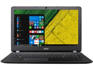 [Saturn] ACER Aspire ES 15 (ES1-572-30K0), Notebook mit 15.6 Zoll Display, Core™ i3 Prozessor, 4 GB RAM, 1 TB HDD, HD-Grafik 520, Schwarz