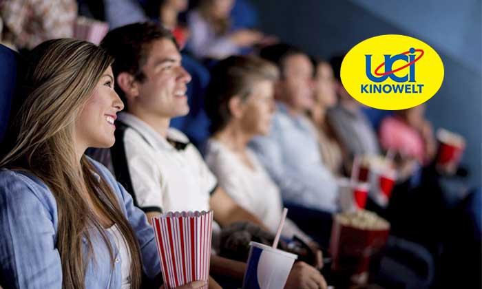 5 Kinogutscheine für alle 2D-Filme inklusive Überlänge und Loge in der UCI KINOWELT