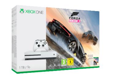 Xbox One S 1TB + Forza Horizon 3 + 1 frei auswählbares Spiel (z.B. Tekken 7) für 249€ (Media Markt)