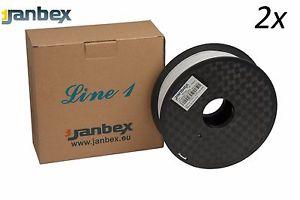 Marken 1,75er PLA Filament von Janbex (3d Druck) als Doppelpack im Angebot