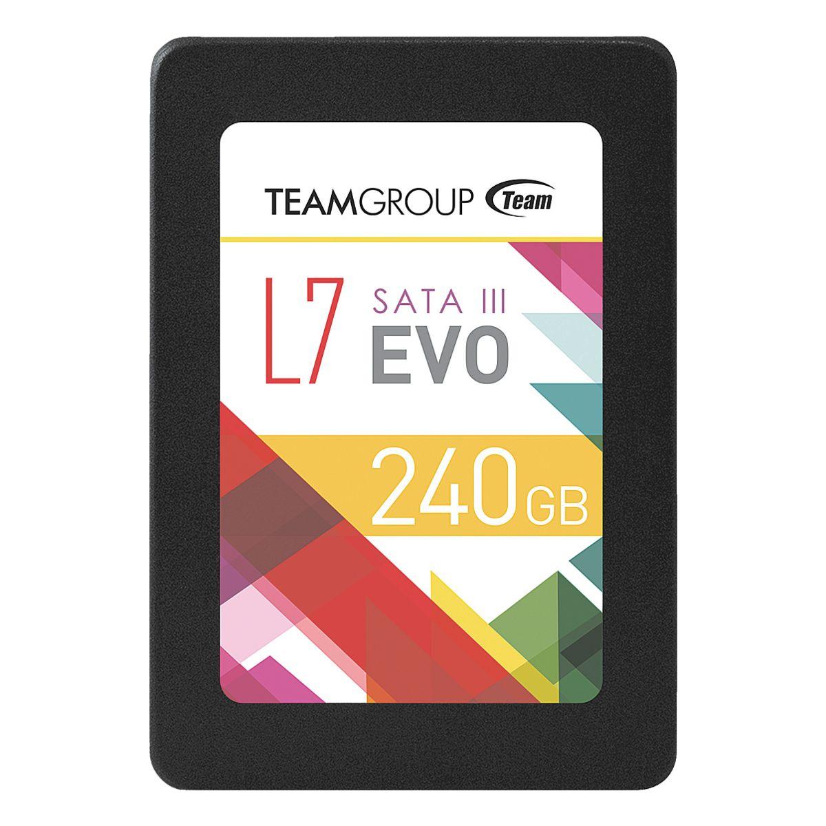 TeamGroup L7 EVO SSD mit 240GB für 68,31€ [Otto Office]