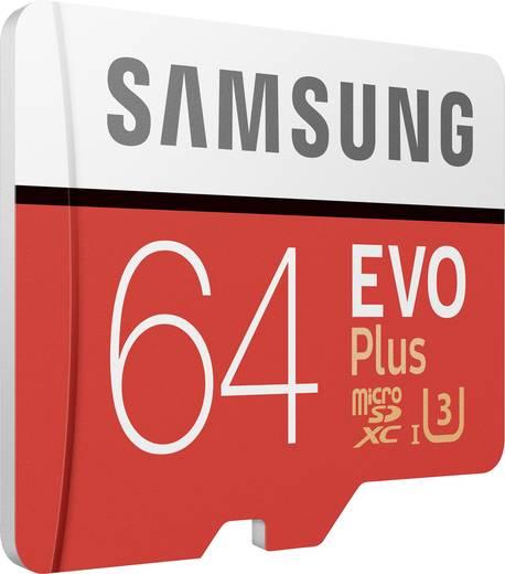 Samsung Evo Plus microSDXC mit 64GB Class 10 / U3 für 22,44€ [Conrad]