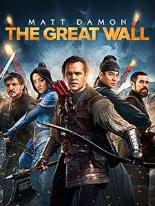 The Great Wall (HD) zum Leihen für 1,98€ [Amazon Video]