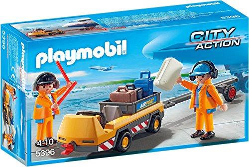 Playmobil 5396 Flugzeugschlepper mit Fluglotsen für 8,20€ mit [Amazon Prime]