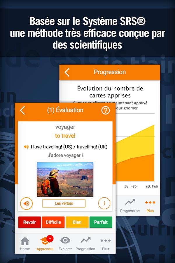 Englisch Lernen mit MosaLingua (Premium) kostenlos (statt 4,69€) [Android] [iOS]