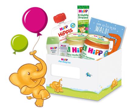[Hipp Babynahrung] Kostenlose Baby Hipp Produktproben und mehr