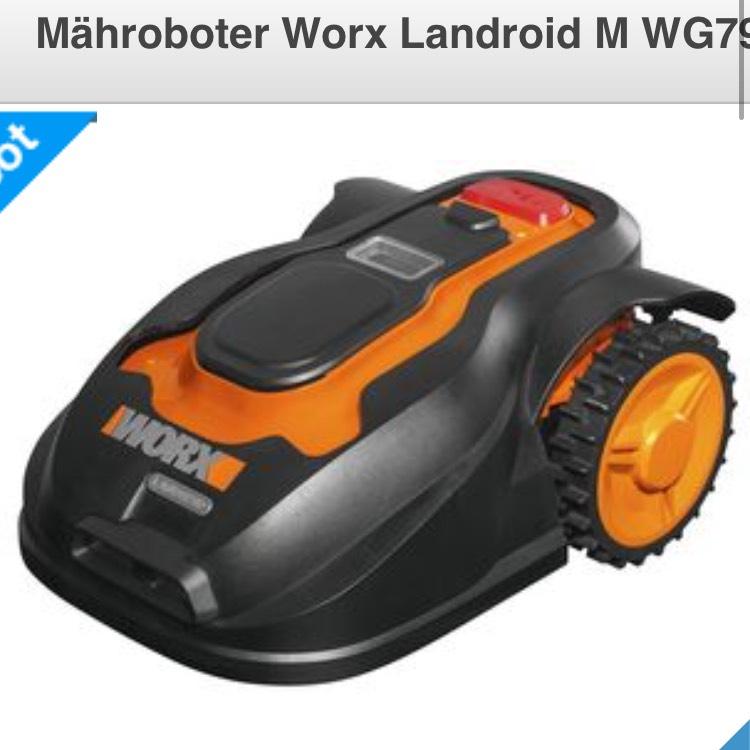 Mähroboter Worx Landroid M WG790E.1bei Clas Ohlson für 654,95