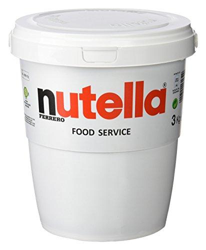 Ferrero Nutella 3kg Eimer für 21,52 Euro Amazon Prime