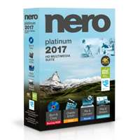 Nero 2017 Platinum + Music Recorder Premium + Link64 Video Downloader Ultimate für 39,95€