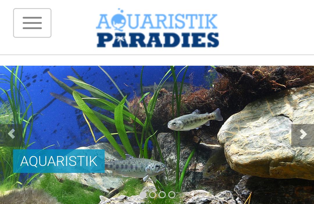 15% Auf Alles im Aquaristik Paradies online Shop**