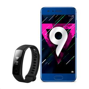 Honor 9 + Honor Band 3 GRATIS dazu