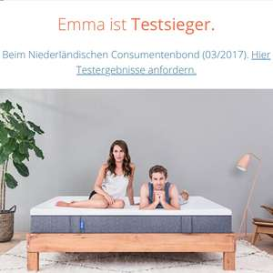 emma matratze angebote deals september 2018. Black Bedroom Furniture Sets. Home Design Ideas