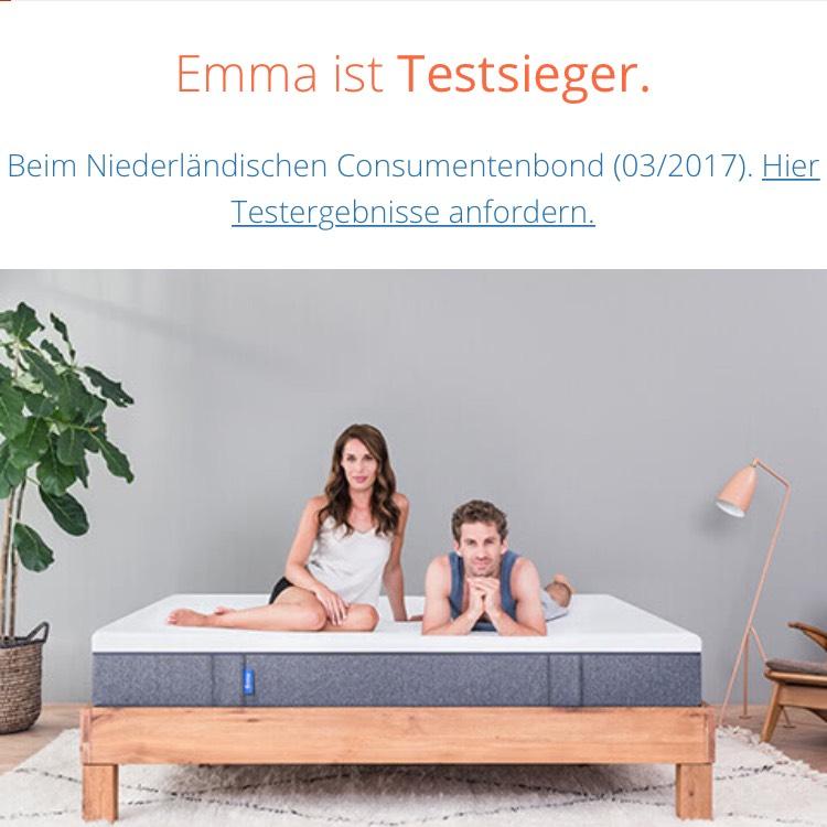 emma matratze angebote deals november 2018. Black Bedroom Furniture Sets. Home Design Ideas